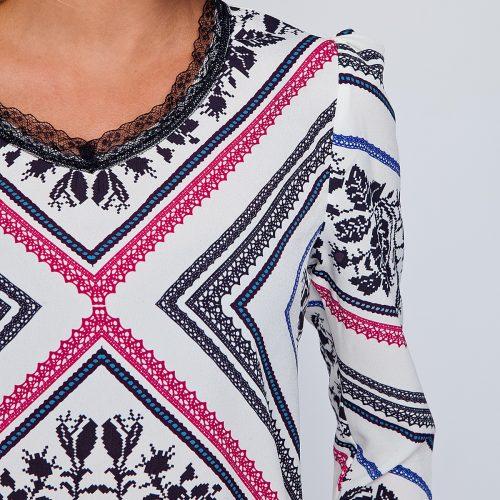Купить оригинальную блузу с длинным рукавом