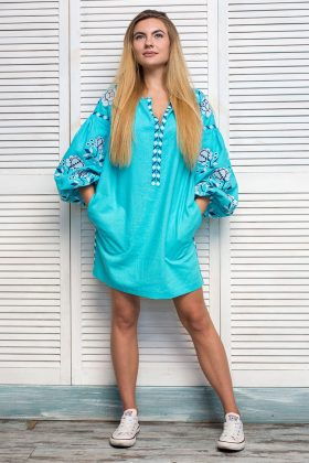Платье Бирюза купить